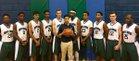 Boys' Home Hilltoppers Boys Varsity Basketball Winter 17-18 team photo.