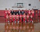 Steilacoom Sentinels Boys Varsity Basketball Winter 17-18 team photo.