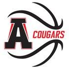 Alexander Cougars Boys Varsity Basketball Winter 17-18 team photo.