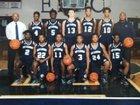 East Clarendon Wolverines Boys Varsity Basketball Winter 17-18 team photo.