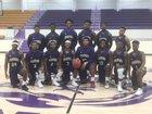 Junction City Dragons Boys Varsity Basketball Winter 17-18 team photo.