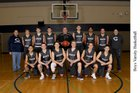 Chiawana Riverhawks Boys Varsity Basketball Winter 17-18 team photo.