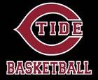 Concord Crimson Tide Boys Varsity Basketball Winter 17-18 team photo.