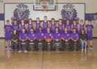Manzano Monarchs Boys Varsity Basketball Winter 17-18 team photo.