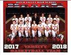 Hatch Valley Bears Boys Varsity Basketball Winter 17-18 team photo.