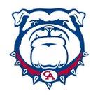 Columbia Academy Bulldogs Boys Varsity Basketball Winter 17-18 team photo.