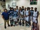 Memorial Christian Academy Warriors Boys Varsity Basketball Winter 17-18 team photo.