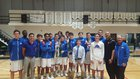Osceola Warriors Boys Varsity Basketball Winter 17-18 team photo.