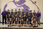 Hitchcock County Falcons Boys Varsity Basketball Winter 17-18 team photo.