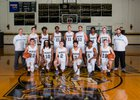 North Gaston Wildcats Boys Varsity Basketball Winter 17-18 team photo.