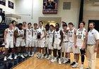Montgomery Bell Academy Big Red Boys Varsity Basketball Winter 17-18 team photo.