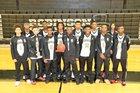 Robinson Senators Boys Varsity Basketball Winter 17-18 team photo.