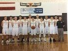 Ogemaw Heights Falcons Boys Varsity Basketball Winter 17-18 team photo.