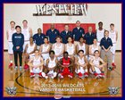 Westview Wildcats Boys Varsity Basketball Winter 17-18 team photo.