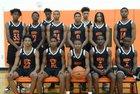 Rocky River Ravens Boys Varsity Basketball Winter 17-18 team photo.