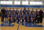 Newfane Panthers Boys Varsity Basketball Winter 17-18 team photo.