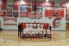 Paradise Valley Trojans Boys Varsity Basketball Winter 17-18 team photo.