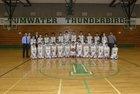 Tumwater Thunderbirds Boys Varsity Basketball Winter 17-18 team photo.