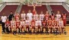 Cabot Panthers Boys Varsity Basketball Winter 17-18 team photo.