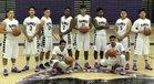Mission Oak Hawks Boys Varsity Basketball Winter 17-18 team photo.