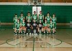 Albuquerque Bulldogs Boys Varsity Basketball Winter 17-18 team photo.
