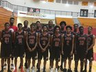 Creekside Seminoles Boys Varsity Basketball Winter 17-18 team photo.