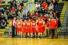 Anchor Bay Tars Boys Varsity Basketball Winter 17-18 team photo.