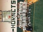 Fayetteville-Manlius Hornets Boys Varsity Basketball Winter 17-18 team photo.