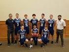 Sulamita Christian Eagles Boys Varsity Basketball Winter 17-18 team photo.