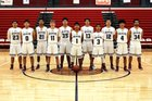 Deming Wildcats Boys Varsity Basketball Winter 17-18 team photo.