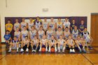 Battle Creek Braves Boys Varsity Basketball Winter 17-18 team photo.