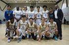 Animo Venice Pirates Boys Varsity Basketball Winter 17-18 team photo.