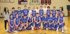 Hugoton Eagles Boys Varsity Basketball Winter 17-18 team photo.