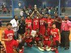 Brooks Tigers Boys Varsity Basketball Winter 17-18 team photo.