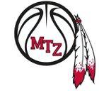 Mt. Zion Braves Boys Varsity Basketball Winter 17-18 team photo.