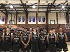 Cathedral Phantoms Boys Varsity Basketball Winter 17-18 team photo.
