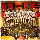 Orange Panthers Boys Varsity Basketball Winter 17-18 team photo.