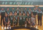 Tuba City Warriors Boys Varsity Basketball Winter 17-18 team photo.