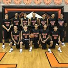 Gallup Bengals Boys Varsity Basketball Winter 17-18 team photo.