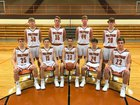 Crawford County Wolfpack Boys Varsity Basketball Winter 17-18 team photo.