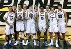 Jefferson County Patriots Boys Varsity Basketball Winter 17-18 team photo.