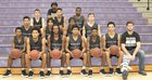 Riverview Raiders Boys Varsity Basketball Winter 17-18 team photo.