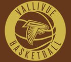 Vallivue Falcons Boys Varsity Basketball Winter 17-18 team photo.