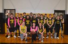 Hackett Hornets Boys Varsity Basketball Winter 17-18 team photo.