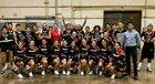 Hoopa Valley Warriors Boys Varsity Basketball Winter 17-18 team photo.