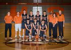 Eldorado Eagles Boys Varsity Basketball Winter 17-18 team photo.