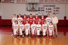 Norfork Panthers Boys Varsity Basketball Winter 17-18 team photo.