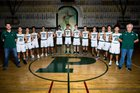 Poway Titans Boys Varsity Basketball Winter 17-18 team photo.