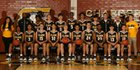 Clark Chargers Boys Varsity Basketball Winter 17-18 team photo.