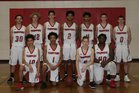 Fort Vancouver Trappers Boys Varsity Basketball Winter 17-18 team photo.